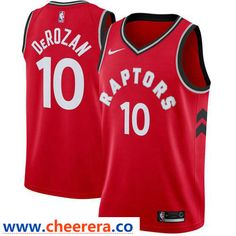 55632b08f Men s Nike Toronto Raptors  10 DeMar DeRozan Red NBA Swingman Jersey. lily  brown · NBA Toronto Raptors and Utah Jazz Jerseys