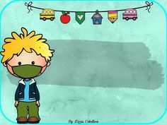 Cartoon Background, Borders For Paper, School Teacher, Family Pictures, Classroom Decor, Bart Simpson, Clip Art, Learning, Wallpaper