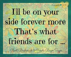 Friendship quote via Facebook.com/IncredibleJoy