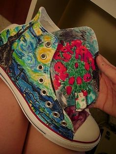 Van gogh shoes - awesome!!