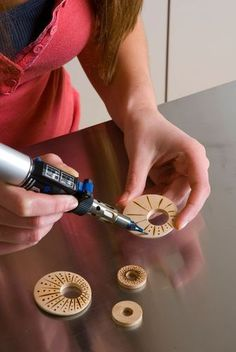 Create your own Jewelery with use from your Dremel Versa-tip.