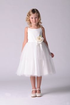 0818681dde0 The Ballerina Dress-US Angels Flower girl dress