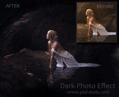 Photoshop Dark Photo Effect