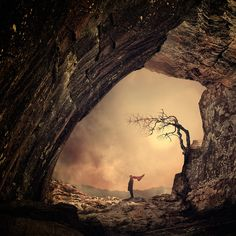 """""""A place where i feel safety """" by Caras Ionut"""