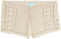 Melissa Odabash Macrame Shorts on shopstyle.com.au