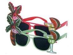 F-002 Fun Party Brille Form: Cocktails Farbe: sortiert