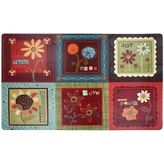 Attractive Eco Inspirational Quilt Kitchen Rug @ Kohls