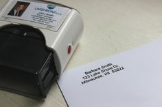 Return Address Stamp - The Perfect Closing Gift for Realtors - RubberStamps.com Blog