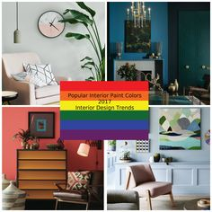 Inspiring Decoration Tips with 2017 Interior Paint Colors Decorators, fashion-oriented specialists have already set the interior paint colors of 2017.