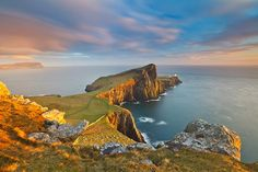 Ocean of Light - Neist Point, Isle of Skye – Scotland Landscape Photography by Fortunato Gatto Places Around The World, Around The Worlds, Scotland Landscape, Landscape Photographers, Beautiful World, Beautiful Places, Beautiful Scenery, Amazing Places, Nature