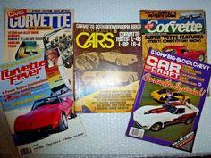 cORVETTE CAR MAGAZINE JUNK DRAWER LOT VINTAGE BACK ISSUES 70S 80S CAR neocurio #corvette #corvettemagazines #vette #ebay #neocurio #1970s #1980s #spotrscar