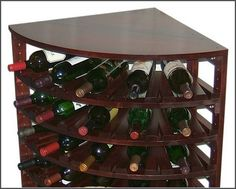 The wine lovers Plans for building your own wine racks Free DIY Project Plan  Learn How
