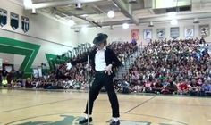 Small town teen does incredible Michael Jackson performance at talent show, including moonwalk around the 3 minute mark. In related news, I stumbled on my own pants hem and smacked into a door frame this morning.
