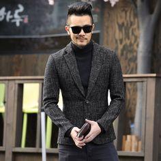 817ccaa25b spring autumn new men s fashion casual suit jacket Moda Męska