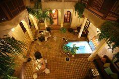 Patio - Riad Zayane - Marrakech