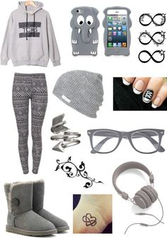 """the sky isnt gray but i am"" by marzpoo ❤ liked on Polyvore"