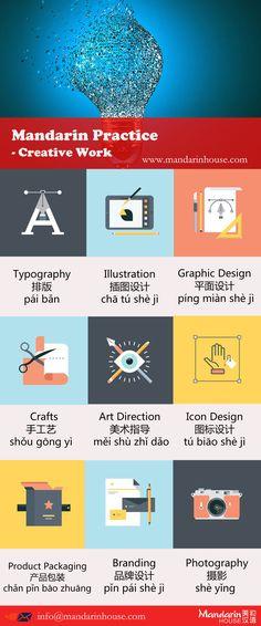 Creative Workin Chinese.For more info please contact: bodi.li@mandarinhouse.cn The best Mandarin School in China.