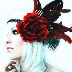 Headdress...I love to make one of these on a smaller scale