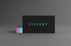 Business Card Design #holographic #businesscard #mockup