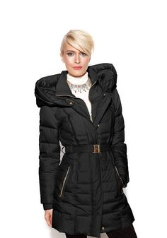 Sharp winter coat...too bad there's no need for one this warm in the desert! E*