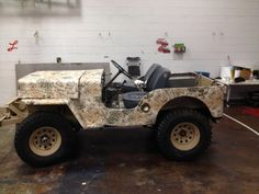 Camo that ole Willy's up or any vehicle at www.CamoMyRide.com #CamoMyRide