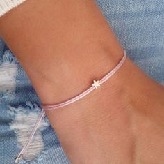 Star bracelet silver bracelet everyday bracelet gift