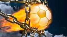 Football Fire Ball