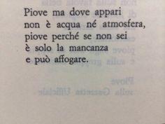 Eugenio Montale, Piove.