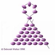 Beltana's Beads -- Cheyenne Stitch Instructions