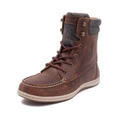 Womens Sperry Top-Sider Bayfish Boot - Dark Brown - 583783
