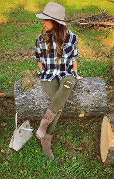 Beauties in the Burgh - Fall flannels!