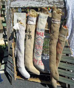 Feedsack stockings