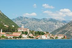 Sailing with a yacht in one of the most beautiful cruising grounds in the world - fjordish Bay of Kotor Luxury Yachts, Montenegro, Sailing, Most Beautiful, Mansions, World, House Styles, Candle, Fancy Houses
