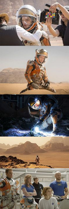 First look - Matt Damon in The Martian. His suit looks awesome!
