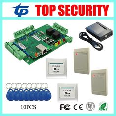 100.00$  Watch here - http://aligt6.worldwells.pw/go.php?t=32496114752 - Smart card door access control system TCP/IP webserver remote control access control panel with RFID card reader and exit button
