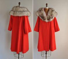 S A L E// vintage 1950s 50s coat / 50s rare by simplicityisbliss, $325.00