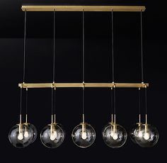 """$3700  Languedoc Linear Chandelier 72"""""""