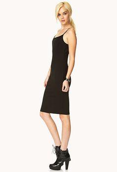 Iconic Slip Dress   FOREVER21 - 2000063667