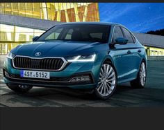 Skoda has pulled the covers off the rather Audi-like fourth-generation Octavia. This five-door family notchback may look similar to the car it replaces, Vw Group, Upcoming Cars, Volkswagen Group, Geneva Motor Show, Four Wheel Drive, Audi A4, Haircuts For Men, Golf, Cars