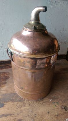 Antique Copper Moonshine Still by VintageRelics802 on Etsy