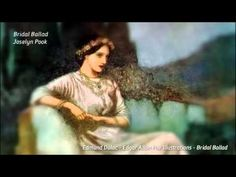 Bridal Ballad by Hayley Westenra and Joselyn Pook. Strange how this songs hooks the listener and transplants one to another, older world altogether...a world of legend and myth and magic.  Video Credits: Anton Grouw on Youtube