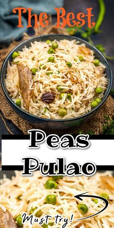 Rice Recipes, Indian Food Recipes, Asian Recipes, Ethnic Recipes, Long Grain Rice, Green Peas, Middle Eastern Recipes, Okra