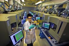 Human Genome Project: Twenty-five years of big biology Human Genome, Human Dna, Genome Project, Personalized Medicine, National Laboratory, Le Figaro, The Twenties, Projects, Secret Meeting