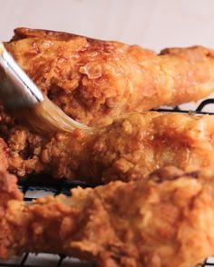 Honey-Glazed Fried Chicken #TastyStory