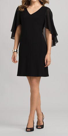 Black Overlay Dress