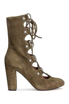 Sandales en daim | H&M 80€