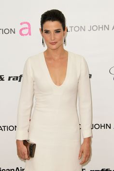 Cobie Smulders: John AIDS Foundation's Oscar Viewing Party in West Hollywood (Feb 2011)