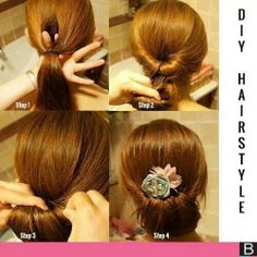 Instant hair style