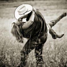 Cowboy/girl love