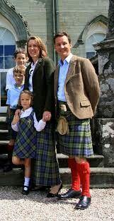 Duke and Duchess of Argyll and family